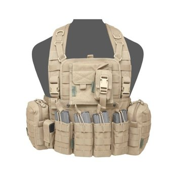 Warrior 901 Elite 4 Chest Rig - Coyote Tan