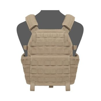 Warrior DCS Special Forces Base Plate Carrier - Coyote Tan