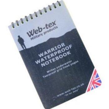 Webtex Warrior Waterproof Notebook