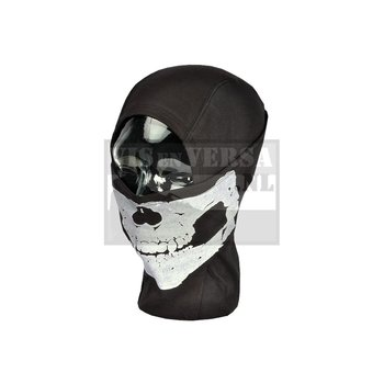 Invader Gear MPS Death Head Balaclava - Schwarz