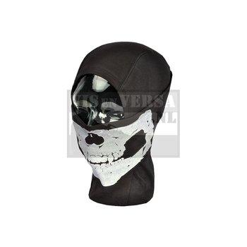 Invader Gear MPS Death Head Balaclava - Zwart