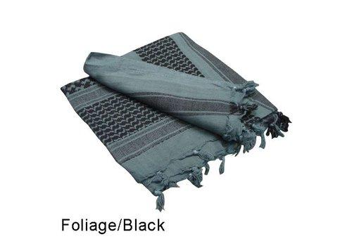 Condor 201 Shemagh - Foliage, Black