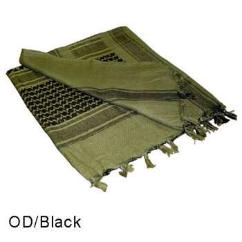 Condor 201 Shemagh - Olive Drab, Black