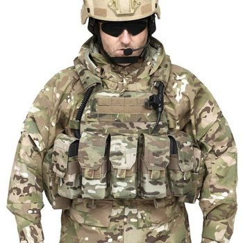 Warrior DCS Special Forces Plate Carrier Base - MultiCam