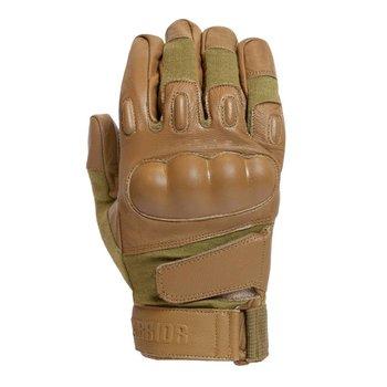 Warrior Firestorm Hard Knuckle Glove - Coyote Tan