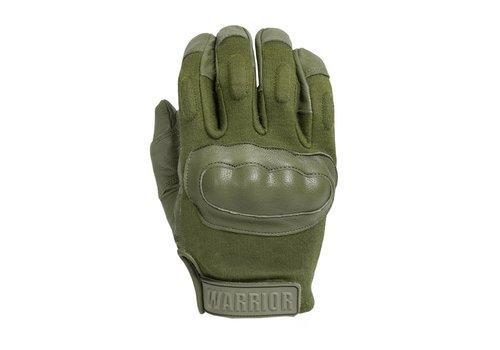 Warrior Enforcer Hard Knuckle Glove - Olive Drab