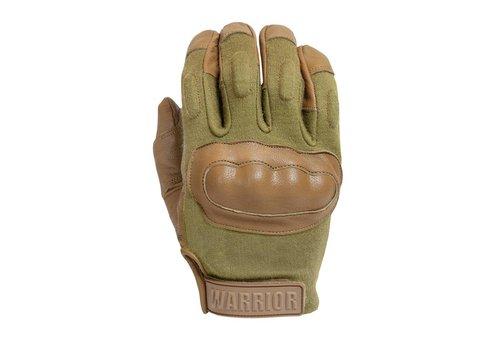 Warrior Enforcer Hard Knuckle Glove - Coyote Tan