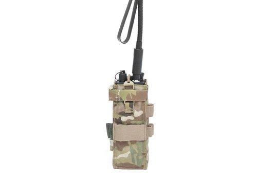 Warrior Front Opening MBITR Radio Pouch Gen2 - MultiCam