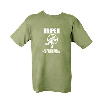 Sniper Die tired T-shirt - Olive Drab