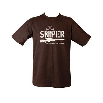 Sniper Out of Sight T-shirt - Black