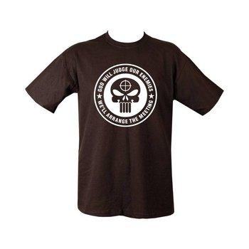 God will judge the Enemy T-shirt - Black