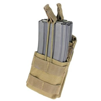 Condor MA42 Single Stacker M4 Mag Pouch - Coyote Brown