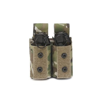 Warrior Double 40mm Grenade/ Flashbang Pouch - MultiCam