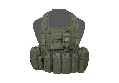Warrior 901 Elite 4 Chest Rig - Olive Drab
