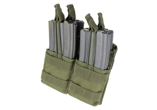 Condor MA43 Double Stacker M4 Mag Pouch - Olive Drab