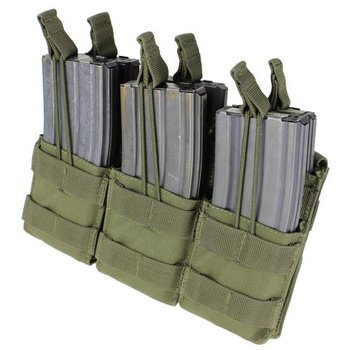 Condor MA44 Triple Stacker M4 Mag pouch - Olive Drab