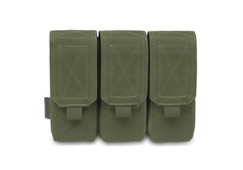 Warrior Elite OPS Triple 5.56 M4 Pouch - Olive Drab