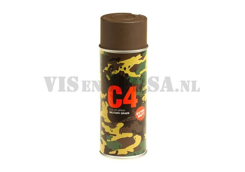 C4 Military Grade Color Spray RAL8027 (lederbraun)