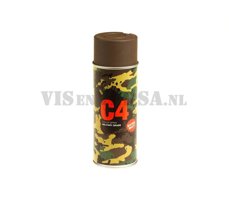C4 Military Grade Color Spray RAL8027 (lederbraun)