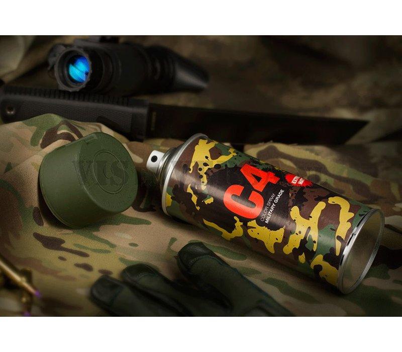 C4 Military Grade Color Spray RAL6031 (dunkel grün)