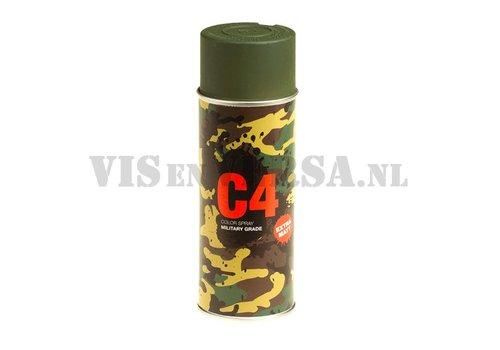 C4 Military Grade Color Spray RAL6031 (donker groen)
