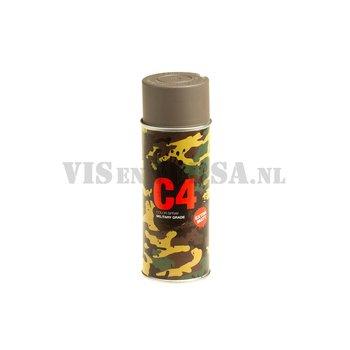 C4 Military Grade Color Spray RAL7050 - (grijs)