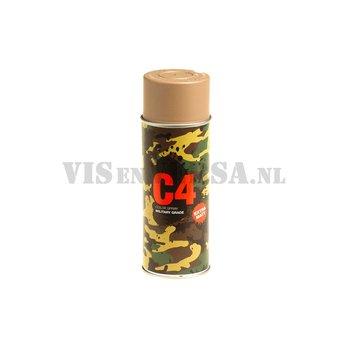 C4 Military Grade Color Spray RAL8031 (zandbruin)