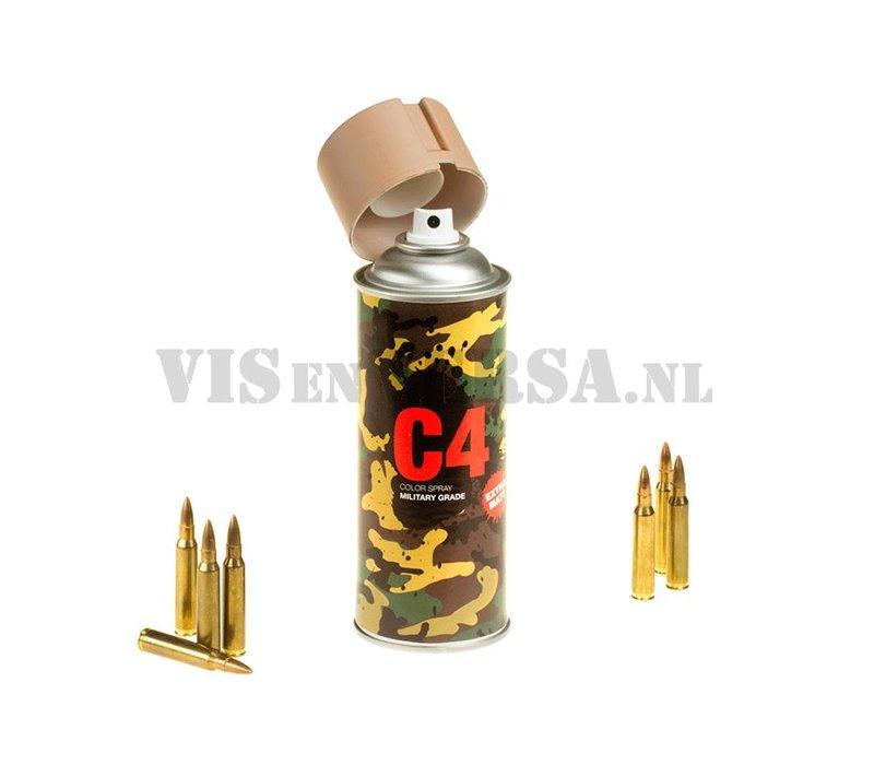 C4 Military Grade Color Spray RAL8031 (sandbraun)