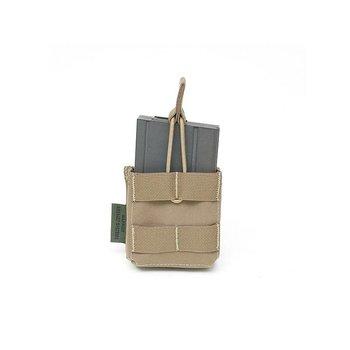 Warrior Single 7.62 x 51mm Open Short - Coyote Tan