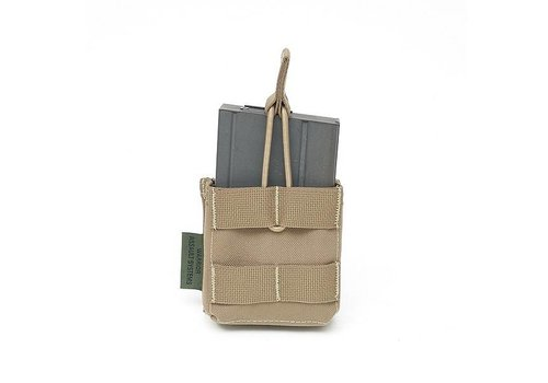 Warrior Single 7.62 x 51mm Open Short - Coyote Tan