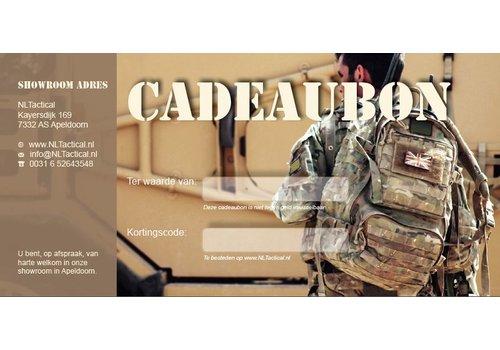 Cadeaubon NLTactical € 35,-