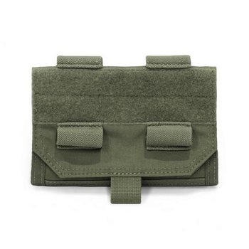 Warrior Front Opening Admin Panel - Olive Drab