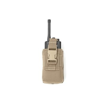 Warrior Elite OPS Small Radio Pouch - Coyote Tan