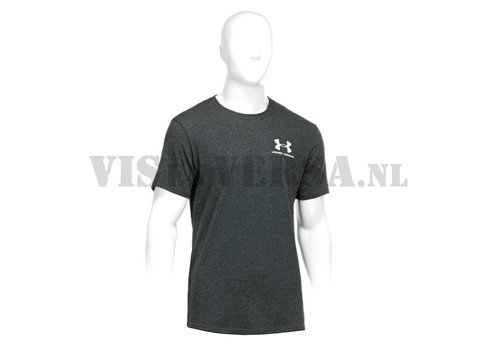 Under Armour Legacy Heatgear Charged Cotton T-shirt - Black