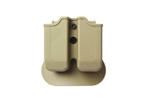 IMI Defense Z2000 Double Magazine Pouch for Glock 17/19/22/23/25 - Coyote Tan