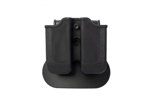 IMI Defense Z2000 Double Magazine Pouch for Glock 17/19/22/23/25 - Black