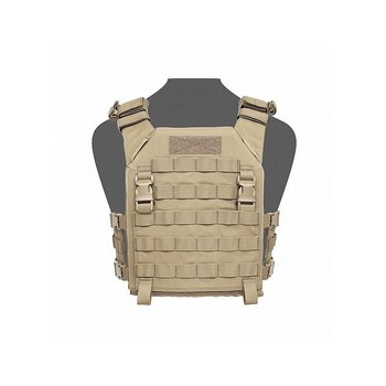Warrior Recon Plate Carrier SAPI - Coyote Tan