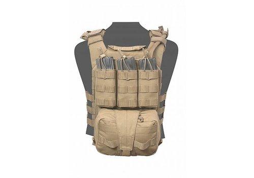 Warrior Assaulters Back Panel - Coyote Tan