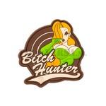 Bitch Hunter Rubber Patch - Full Colour