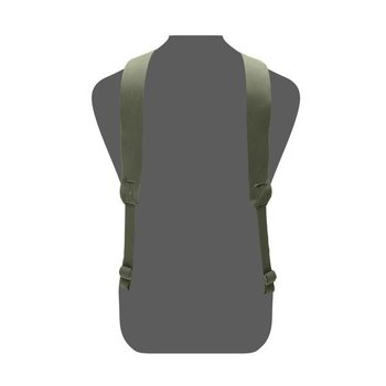 Warrior Slim Line Harness - Olive Drab