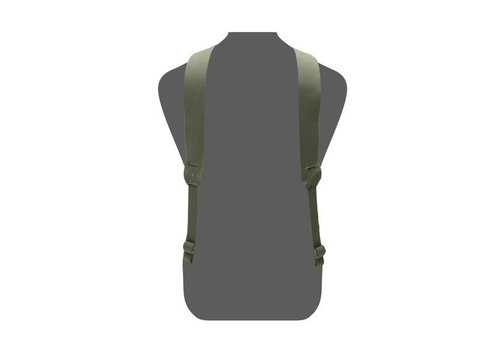 Warrior Slimline Harness - Olive Drab