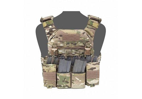 Warrior Recon Plate Carrier w Pathfinder Chest Rig - MultiCam