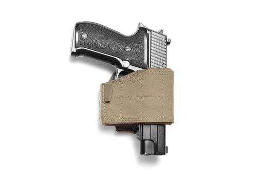 Warrior Universal-Pistole-Pistolenhalfter - links Händigkeit Coyote Tan