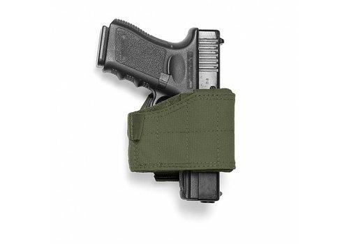 Warrior Universal-Pistole-Pistolenhalfter - links Händigkeit Olive Drab