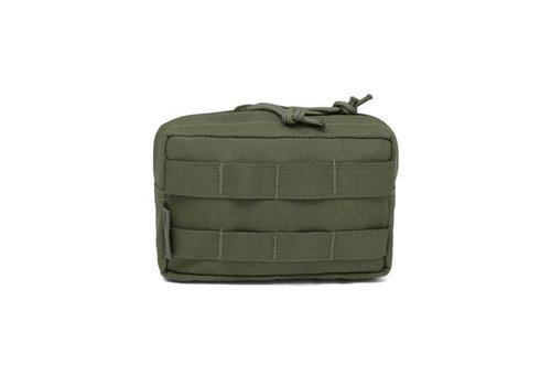 Warrior Elite OPS Small Horizontal Molle Pouch - Olive Drab