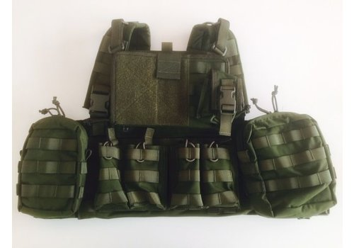 Warrior 901 Commandant Chest Rig - Olive drab (uniek bij NLTactical)