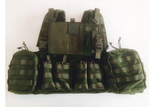 Warrior 901 Commandant Chest Rig - Olive drab (uniek bij NLTactical)