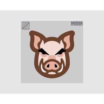 MilSpec Monkey Schweinekopf Patch - Color