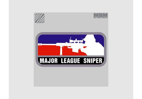 MilSpec Monkey Major League Sniper Patch - Wald