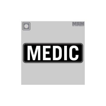 MilSpec Monkey Medic 15 X 5cm PVC Patch - SWAT